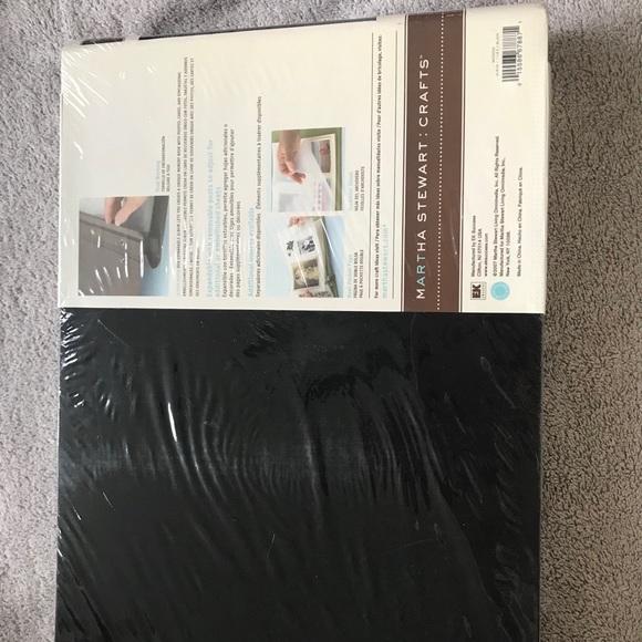 Martha Stewart scrapbook. New in package.
